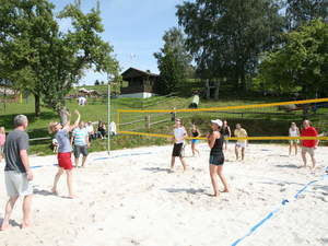Volleyballplatz